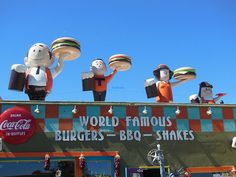Sparky's is a fun, kitschy restaurant in Hatch, New Mexico.  #A&W #BurgerFamily