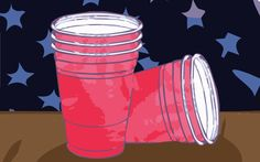 The Hazy History of Flip Cup Flip cup is the reality TV of drinking games. You don't need much to make it work — a group of people, a pack. Easy Drinking Games, Reading Stories, Make It Work, Reality Tv, Flipping, History, Rectangle Table, Marketing, Group