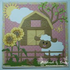 Handmade by Linda: Een zonnige dag op de boerderij - Designer van de ...