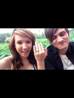 ANTHONY PADILLA FROM SMOSH AND HIS GIRLFRIEND KALEL CULLEN JUST GOT ENGAGED!!!