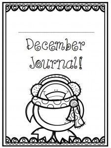 December-Writing-journal