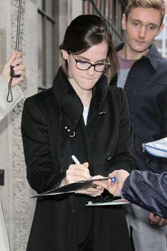 Emma Watson Photos - Emma Watson Makes the Rounds in London - Zimbio