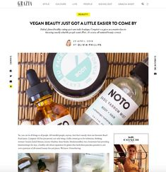 Vegan beauty just got a little easier to come by Healthy Cafe, Buckwheat Pancakes, Vegan Beauty, Natural Products, Middle East, Cruelty Free, Biodegradable Products, Easy