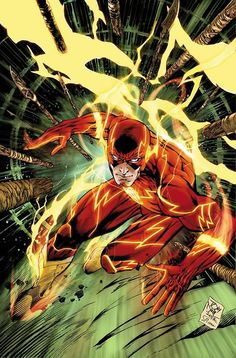The Flash Penciled by Tony Daniel Inked by Sandu Florea Colored by Tomeu Morey