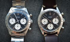 Historical Perspectives: The Very First Rolex Daytona, Explained (Or, What Is A Double-Swiss Underline Daytona?) - HODINKEE Daytona Watch, Rolex Daytona, Vintage Rolex, Vintage Watches, Carrera, Omega Watch, Rolex Watches, Style, Goodies