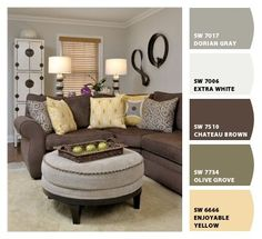 Paint Colors For Small Living Rooms mini living room re-do! classic black, white, and gold with pops