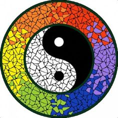 All in one Yin & Yang mosaic mandala kit with everything you need to create a beautiful mosaic mandala tabletop or mural. Mosaic Stepping Stones, Stone Mosaic, Mosaic Glass, Mosaic Crafts, Mosaic Projects, Mosaic Wall, Mosaic Tiles, Free Mosaic Patterns, Yin Yang Art