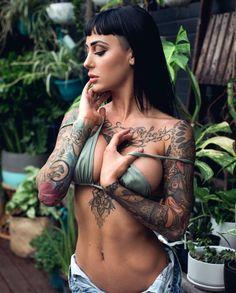 @talleigha @garysantosphoto #sexyink... - Sexy Ink Magazine