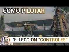 BATTLEFIELD 1 ACADEMIA DE VUELO - APRENDE A PILOTAR (Teclado, Ratón y Ma...