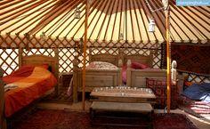 Luxury Camping in Wales | Luxury Yurt Rentals in Wales