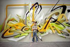 3D Graffiti Art by Daim