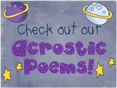 A lot of the activities on this page are for students younger than sixth grade, but I really liked the idea of doing acrostic poems for each of the planets.