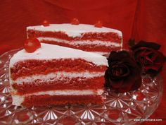 Tarta de terciopelo rojo