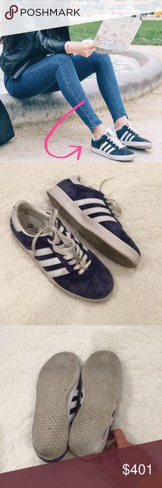 adidas originali gazzella super sneakers in blu blu adidas