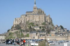 Mont St. Michel, France - this place was just stunning! Watch out for the tide, though!