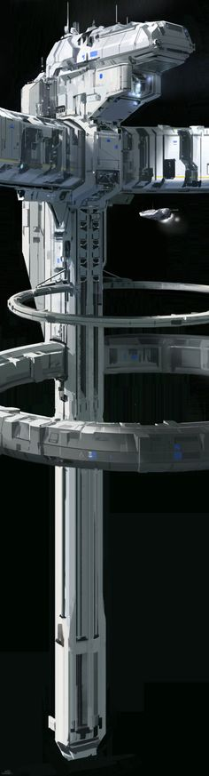 ArtStation - Halo 5 space station - concept 2, sparth .