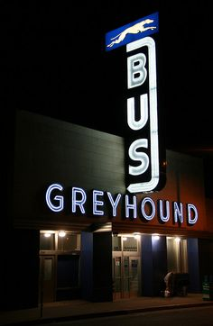 Greyhound Bus Station. My Uncle Paul was a Manager of a Greyhound Bus Station in Lima,OH