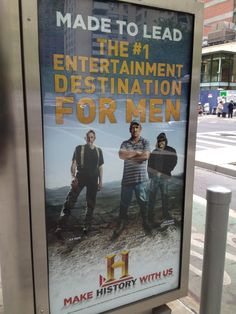 AX Men , Swamp People & Ice Road Truckers - April 2012 - NYC