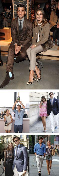 Olivia Palermo and Johannes Huebl Fashion Couple, Love Fashion, Fashion Outfits, Womens Fashion, Fashion Trends, Milan Fashion Weeks, London Fashion, Olivia Palermo Style, Stylish Couple