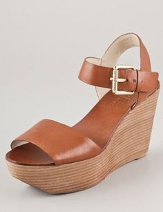 kors michael kors xaria wedge sandals, $225 - Wow talk about full circle, I could have had these when I was a teen!!!