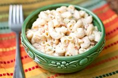 "In Hawaii, where macaroni salad is a staple when it comes to plate lunches, it's been a long known secret that you intentionally overcook the pasta – to make it ""fat"". It helps it to really soak up the sauce, and keep the pasta moist and delicious."
