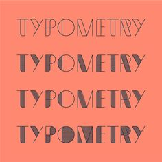 Typometry Pro on Behance