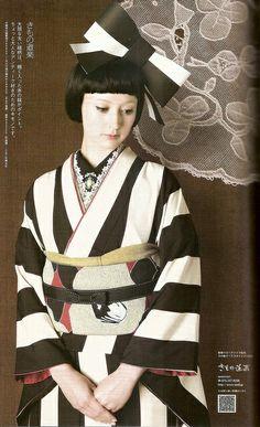 Yukata and Kimino Hime  #yukata #kimono #hime #kawaiinohawaii #inspiration #jfashion