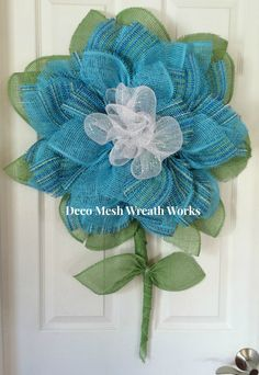 Hey, I found this really awesome Etsy listing at https://www.etsy.com/listing/234519101/paper-mesh-flower-wreath-deco-mesh