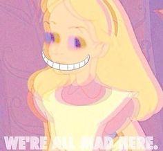 Trippy Alice in wonderland mad