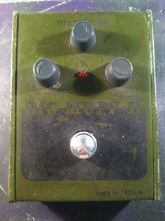 Electro Harmonix : The Sovtek Civil War Big Muff Pi Made In Russia ...