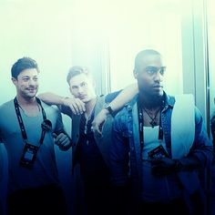 POCSHION: Simon Webbe with bandmates Duncan James and Lee Ryan Duncan James, My Darling, Love S, Celebrities, Blue, Men, Fictional Characters, Musicians, Celebs