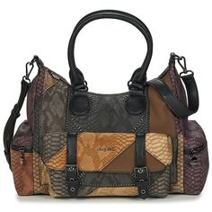 Desigual DARK PHOENIX LEEDS 1 POCKET Sac marron pas cher - 😍 Découvrir ici : #Desigual #bags #Spartoo #Sacamain #Sacs #sacsDesigual #mode #fashion #tendances #BagsDesigual #instafashion Dark Phoenix, Leeds, Balenciaga City Bag, Spartoo, Shoulder Bag, Pocket, Bags, Shoulder Bags, Purse