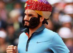 Roger Federer - The Maharaja of Rajasthan - Imgur