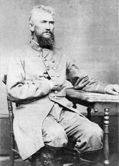 R.I.P. Ford ... a physician, Texas Ranger, and Confederate colonel.  He led troops in Texas that fought the last battle in the Civil War, more than a month after Lee had surrendered at Appomattox.