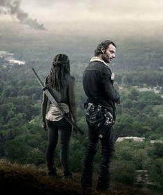 Rick & Michonne - The Walking Dead season 6