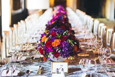 Colorful Wedding / Table Setting / Table Number / Wrap it UP