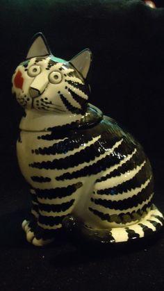 """Vintage B. Kliban """"Kiss Cat"""" Cookie Jar by Sigma JAPAN"""