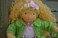 ♥ Kathi  ♥ 38 cm Stoffpuppe - süßer  ♥-ling von Hermis Puppenstube  - ♥ -  Puppenmachen ist Herzenssache - ♥ - Stoffpuppen zum Liebhaben gemacht ! auf DaWanda.com