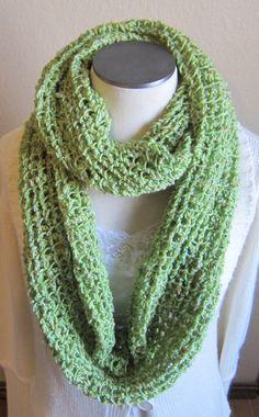 Crochet Cowl/ Hooded Scarf/ Infinity Scarf Yarn Bee by Kitkateden, $25.00