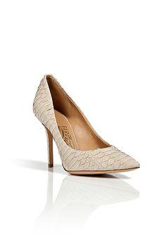 Beautiful Ferragamo stilettos.
