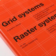 Grid Systems in Graphic Design by Josef Müller-Brockmann, RAM Publications, 1961