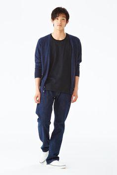 衣料品 2012 秋冬|コーディネートカタログ 紳士|無印良品ネットストア