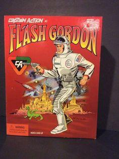 1998 Playing Mantis FLASH GORDON Captain Action Hero Series NRFB - http://hobbies-toys.goshoppins.com/action-figures/1998-playing-mantis-flash-gordon-captain-action-hero-series-nrfb/