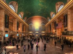 """This photo has been used to promote """"25 most beautiful train stations in the World"""". I know a ton of photos has been shot here at Grand Central Station in New York, and I feel quite proud, that mine has been used to this.  --Jacob Surland www.caughtinpixels.com  Art sale as limited prints. Photo by Jacob Surland, Licensed Creative Commons non-commercial v4.0. No Derivative Work. Protected by Pixsy.com"""
