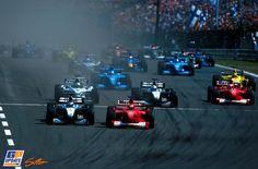 Michael Schumacher, Mika Häkkinen, Ferrari, McLaren, Formule 1