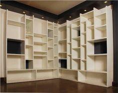 Bespoke Bookcase by Dalia Sadany, via Behance