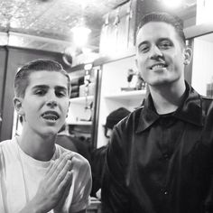 "G Eazy and mini G Eazy ( simon lunche) from the music video ""Far Alone""-G-Eazy"