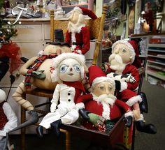 More Joe Spencer Christmas dolls!