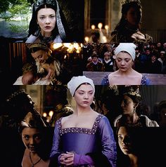 Natalie Dormer as Anne Boleyn, The Tudors Season 2.