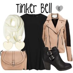 """Tinker Bell (Storybrooke) -- Once Upon a Time"" by evil-laugh on Polyvore"